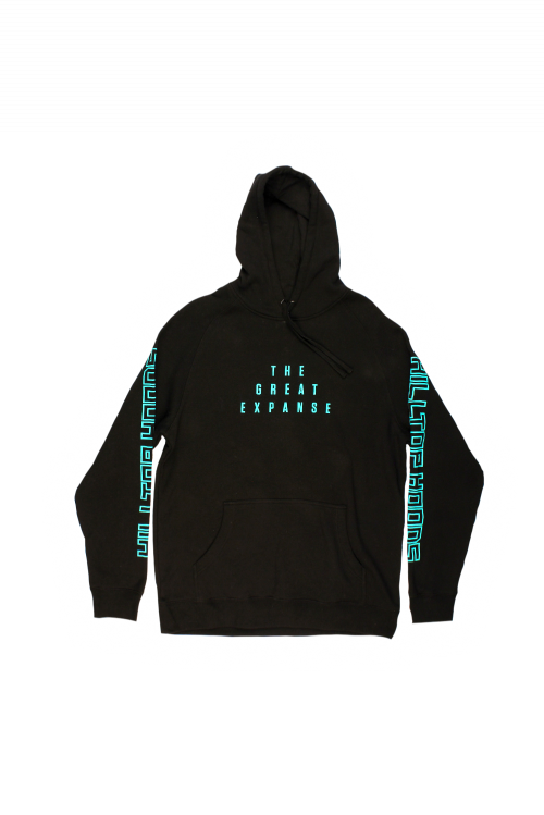 Great Expanse Tour Black Hoody by Hilltop Hoods
