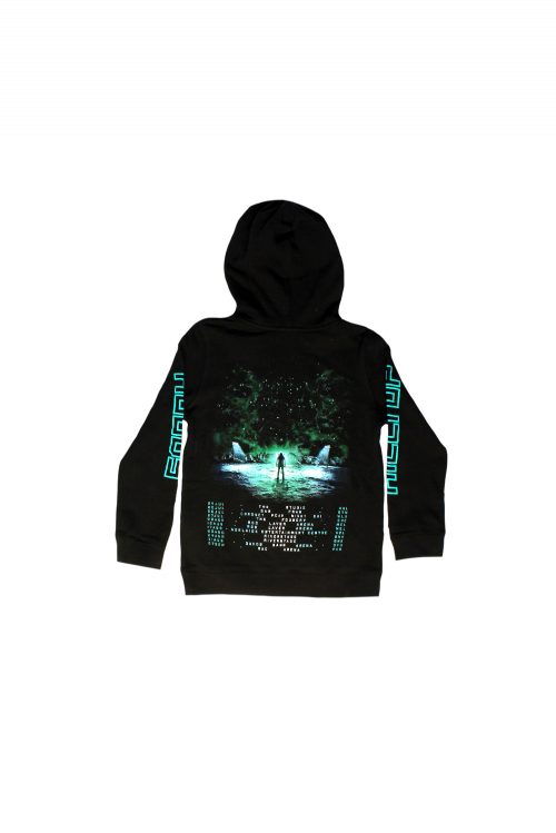 Great Expanse Tour Kids Black Hoody by Hilltop Hoods