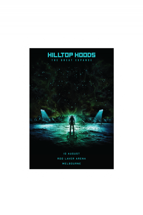 Foil Lithograph Limited Edition (Select Your City) by Hilltop Hoods